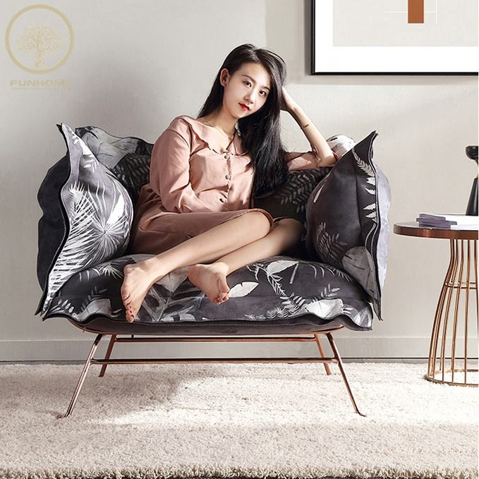 De <span class=keywords><strong>moda</strong></span> de buena calidad último diseño único plazas sofá silla decoración para el hogar futón de bajo precio
