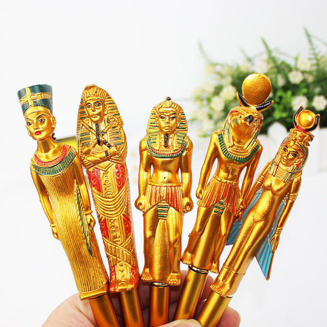 Égyptien Anciens Pharaons Or souvenir stylos, <span class=keywords><strong>stylo</strong></span> à bille