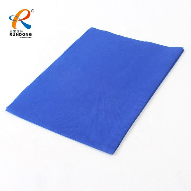 150gsm 98% cotton 2% spandex plain poplin stretch twill fabric for pants