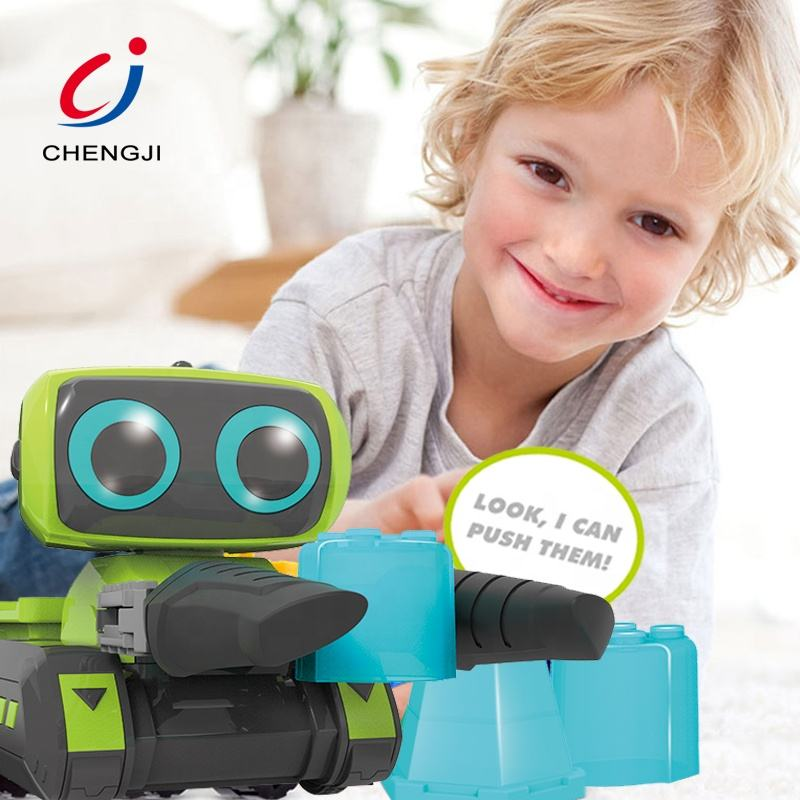 New intelligent programmable rc battery operation smart toy robot