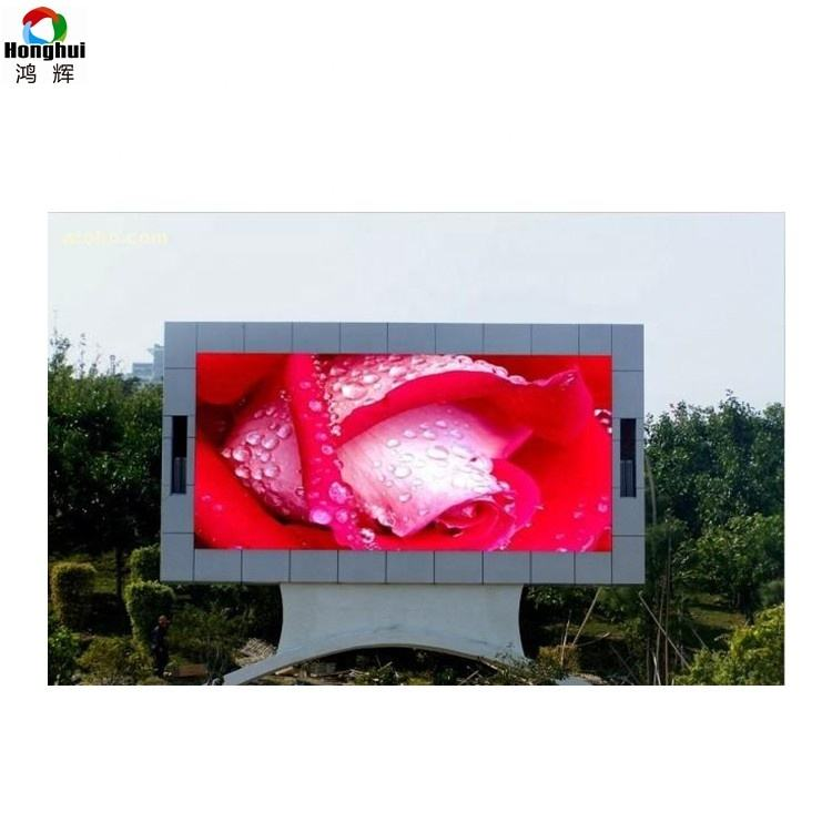 Digitale LED Sign Outdoor Front Open P4 Video Play Led-scherm Kast Vaste Installatie Outdoor LED Groot Scherm
