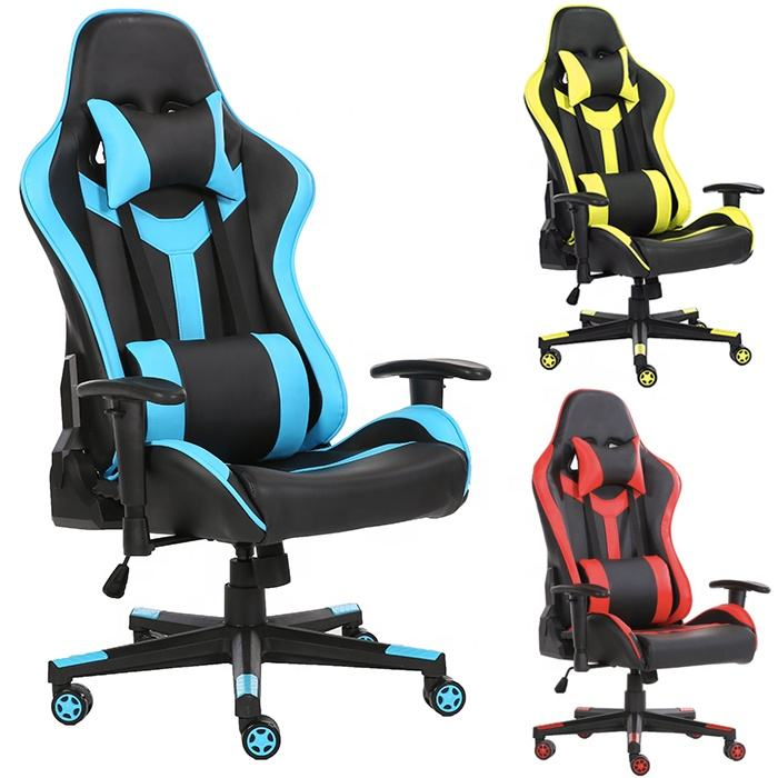 2021 New Arrival Racing computer lounge PC gaming chair with adjustable armrest