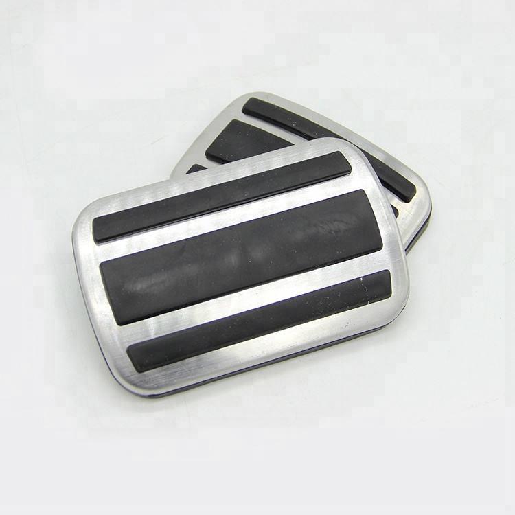 Asociados aluminio Pedal Pad Set cubiertas para Peugeot 408 Pedal