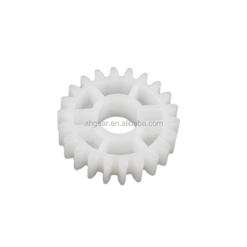 China gear vendor high precision standard size POM OEM plastic customized and standard size spur gear