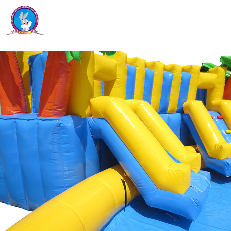 Professional standard inflatable water slides prices park equipments