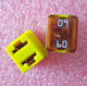 0895060.Z 895 Square Car Fuse 60A Low Profile JCASE Cartridge Fuses R