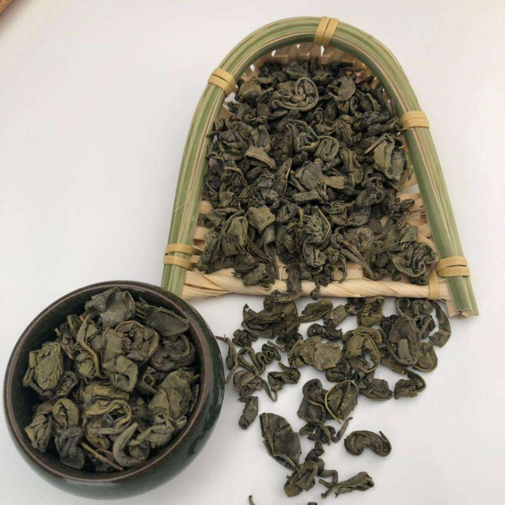olive loose leaf best green tea large leaf fine china gunpowder 9503 tea factory for afghanistan market