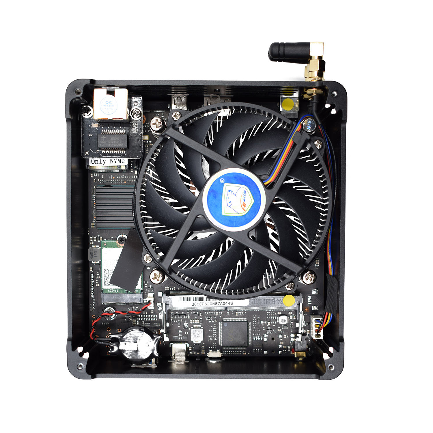 fan desktop pc gaming computer with i3 i5 i9 8950HK ddr4 32gb ram type c support 3D games window linux