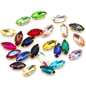 Sewing Claw Rhinestone Flat Back Sew On Strass Crystal Stones for Wedding Dress Clothes Decoration