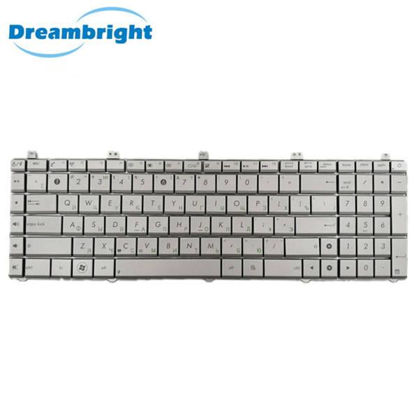 Marca Original nuevo teclado del ordenador portátil para ASUS N55 N75 X5QS RU de N75 versión con buena calidad portátil teclado