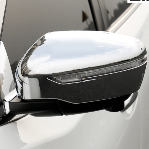 For Nissan X-Trail 2014 2015 2016 2017 ABS Chrome External Side Door Mirror Covers Rear View Mirror Trim Frames Decoration