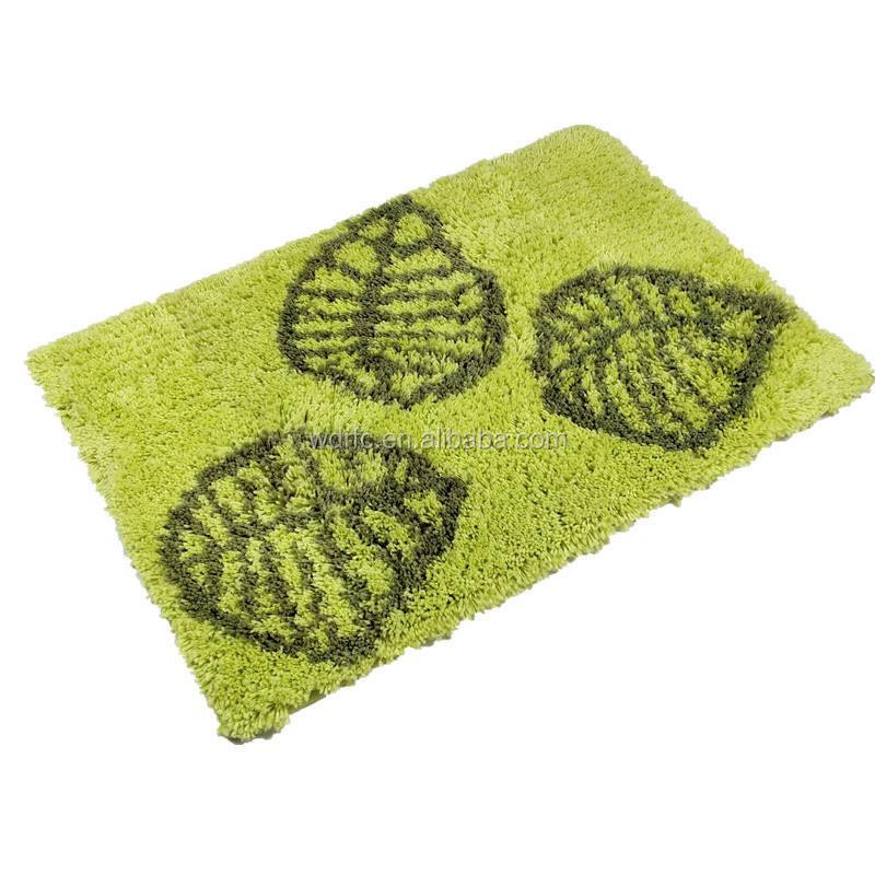 American Style Plant Leaf Floor Carpet And leaf pattern carpets