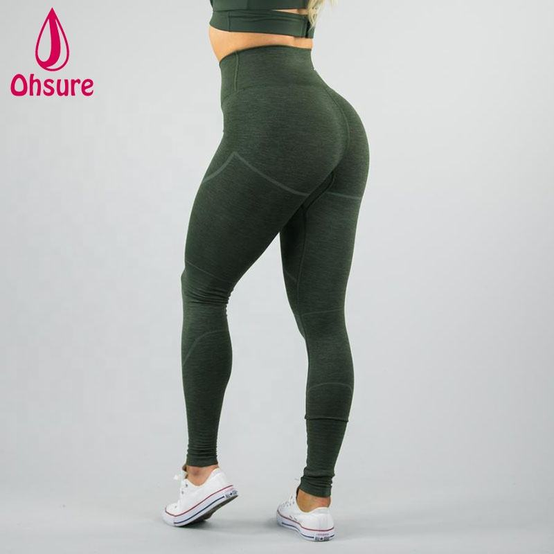 custom activewear fitness leggings active wear high waist nylon spandex tights women leggings yoga