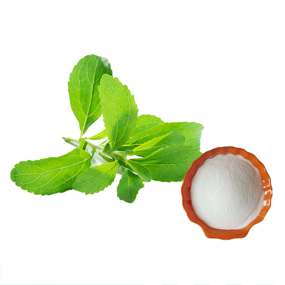 Organic Stevia Dry Leaves Sugar Price Stevioside Glycoside Stevia extract Powder for Baked food Beverage
