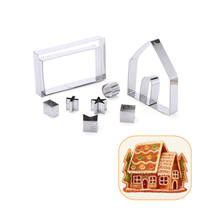 Factory Wholesale High Quality 3D Gingerbread House Cookie Mold