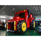 commercial tractor with trailer Inflatable obstacle course for kids