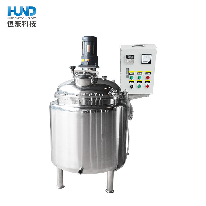 500L detergent liquid soap making machine/shampoo mixer tank lotion mixer