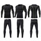 Men Compression Base Layers Elastic Tights running Uniform Fitness Workout Gym Uniform