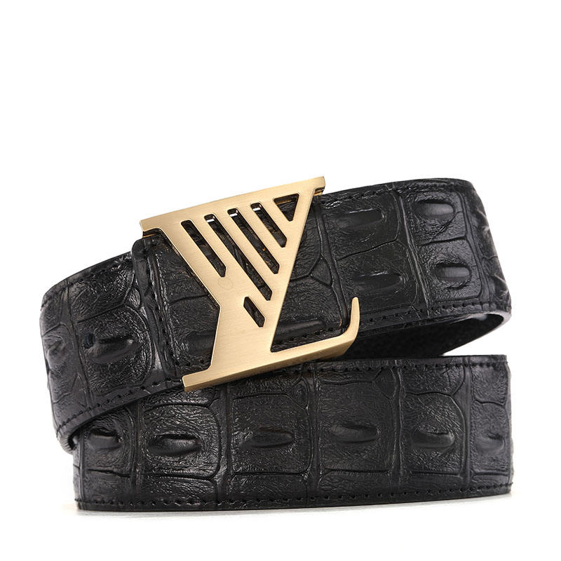 Chinese Factory Hot Sale men belt leather genuine man pu l v Best price high quality