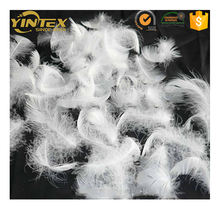 WASHED WHITE DUCK/GOOSE  FEATHER 2-4 CM