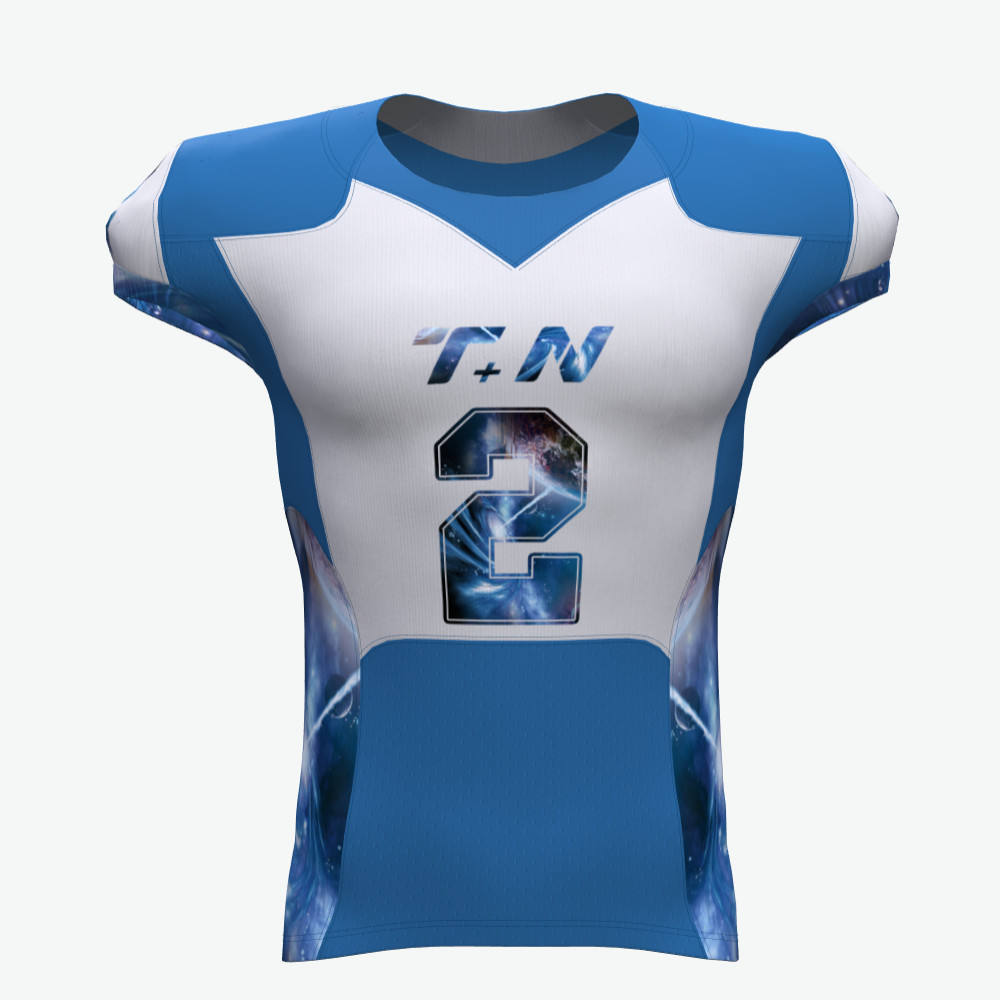 Hot sale OEM service sublimation american football jersey