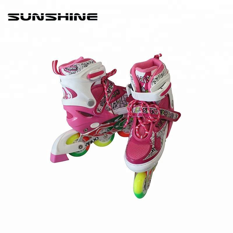 Chất lượng tuyệt vời phong cách mới người lớn nhấp nháy con lăn skate land con lăn skate