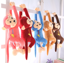 2019 Adorable Creative Custom Logo Stuffed/Plush Hanging Monkey
