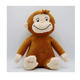 Birthday gift customization hot style creative doll curious monkey cuddly George plush toy doll