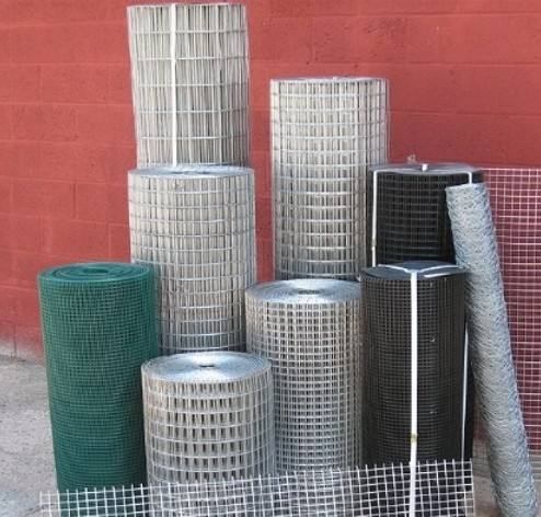 Galvanized & PVC coated welded wire mesh factory in Dingzhou China
