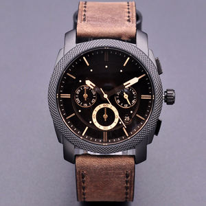 high quality dress montre mens wrist fs watches original Quartz reloj Leather wristwatches with box