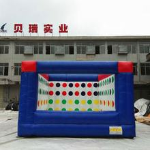 Adults or Children Sports Games 3D Twister Game / Fun Inflatable Twister Mattress For Sale