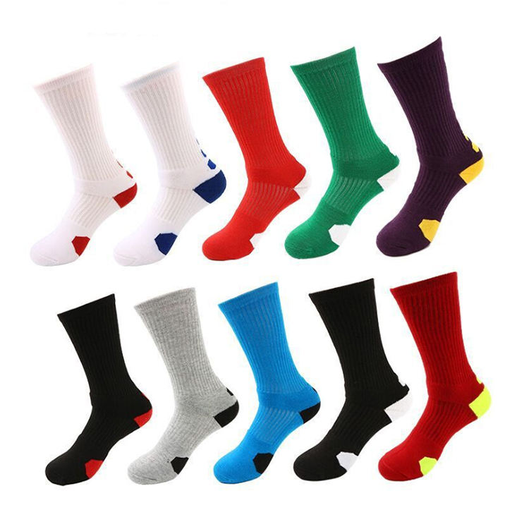 Boys Sock Basketball Soccer Hiking Athletic Outdoor Sports Crew Socks