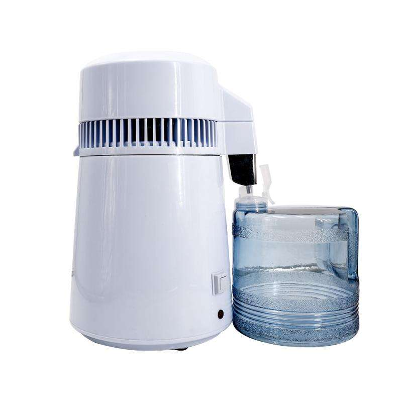 Energy efficient personal water LCD alcohol distiller