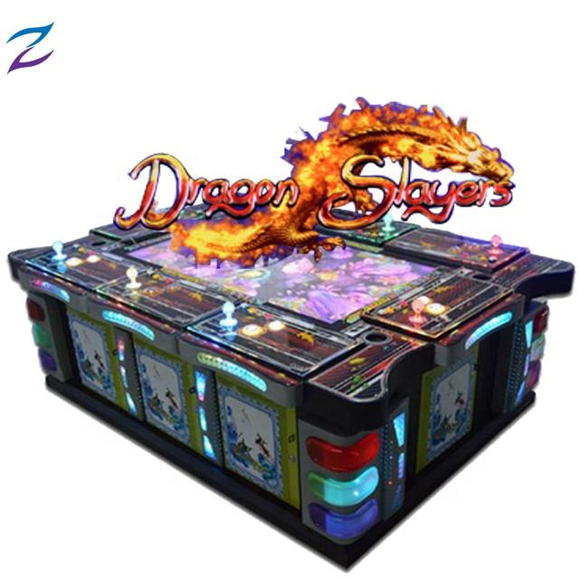 Dragon Slayer Fish Game Table Video Game Consoles Cabinet Arcade 3D Fishing Game Cabinet