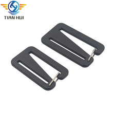 Custom spring adjustable buckle metal aluminum g hook buckle for backpack