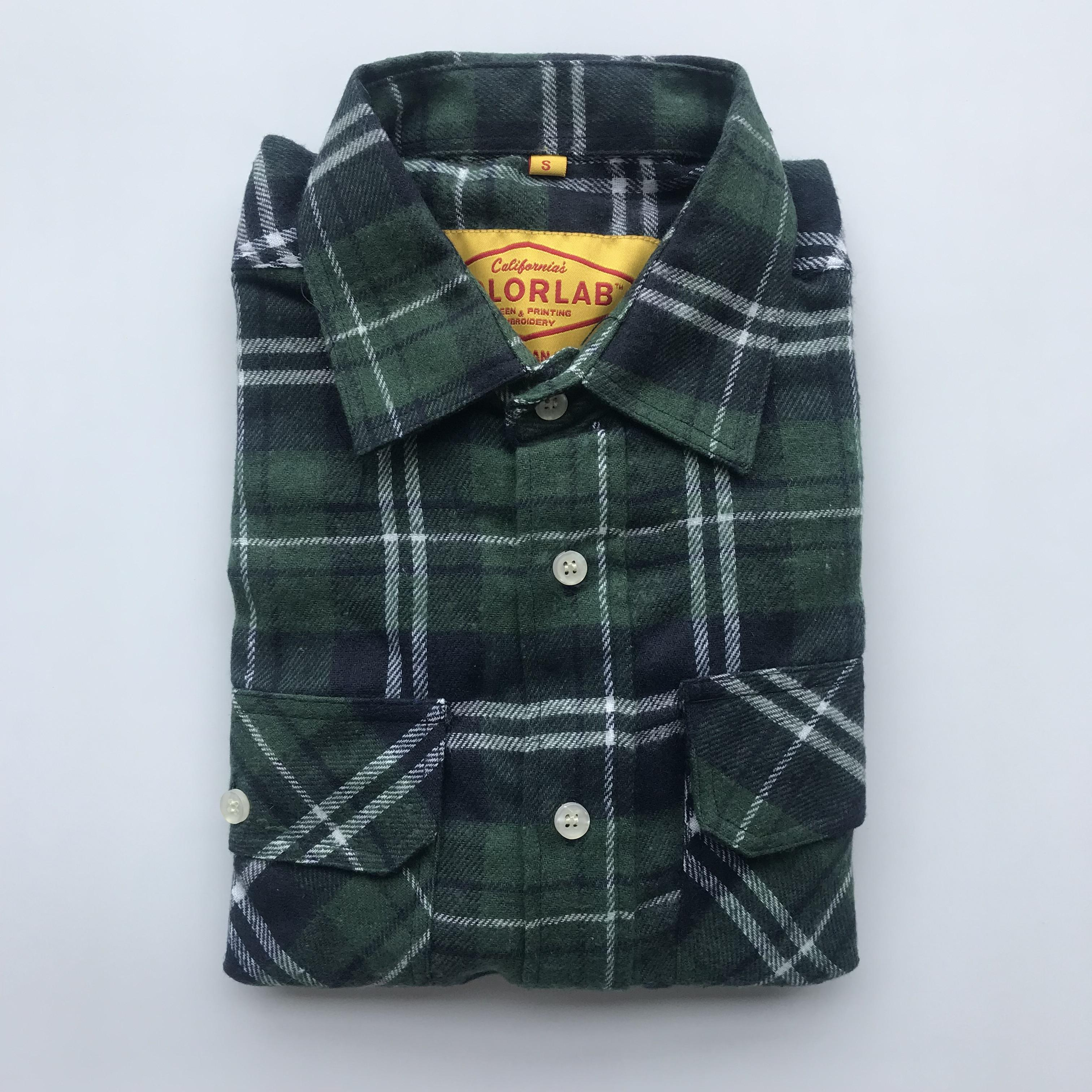 China 100% Cotton Checked Custom Casual Mens Flannel Shirt