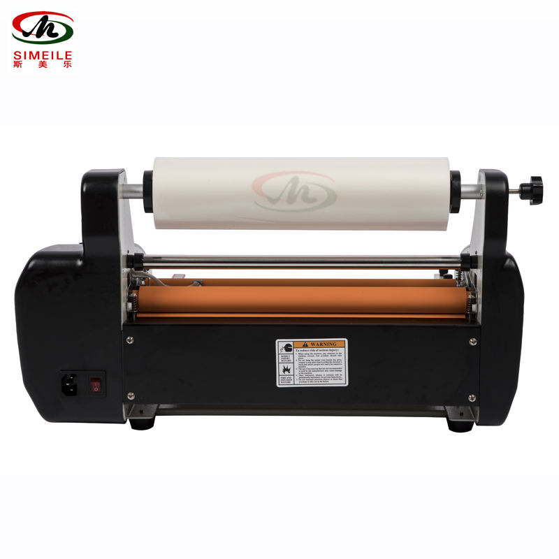 A3 330Mm Heated Roll Laminator Hot Cold Roll Laminator
