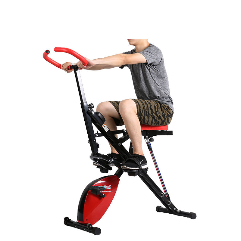2020 Indoor Folding Exercise Bike total body crunch Horse Riding Machine