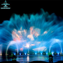 16m x 8m Laser Movie Water Screen Fountain Projector With Changeable Lights For Show Fountain