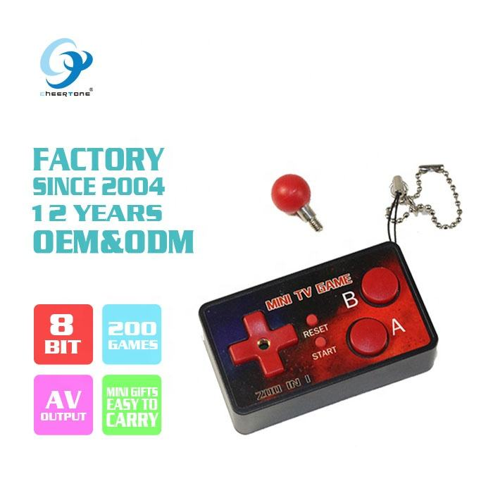 Fabriek directe verkoop 8 bit handheld joystick mini video game console CTT409