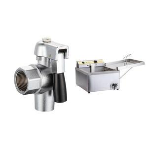 Válvula de drenaje de aceite para embudo torta/Donut freidora