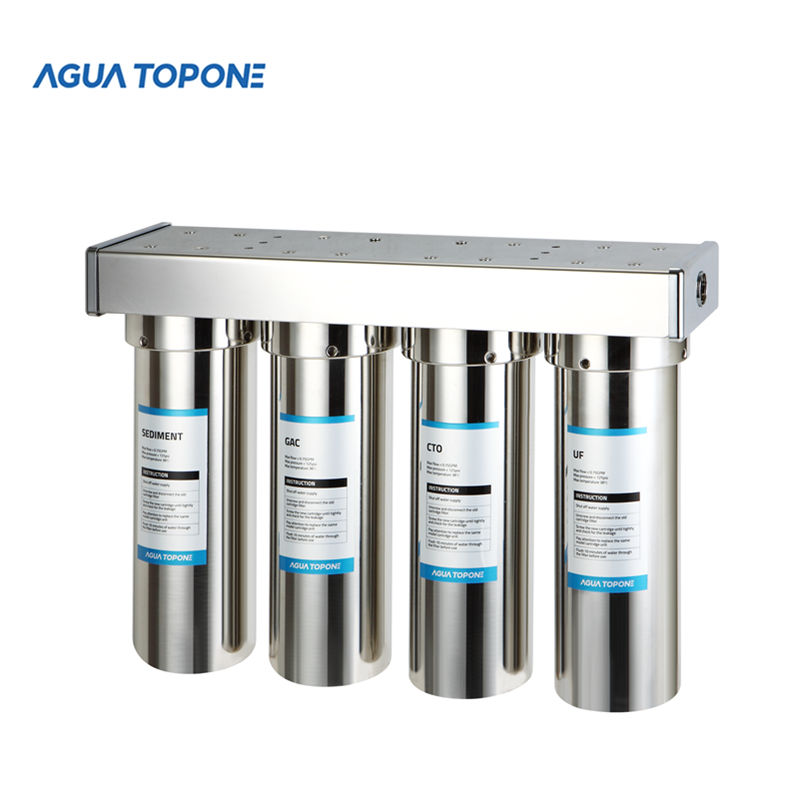 Agua Topone 4 stadia 10 inch rvs water filter behuizing