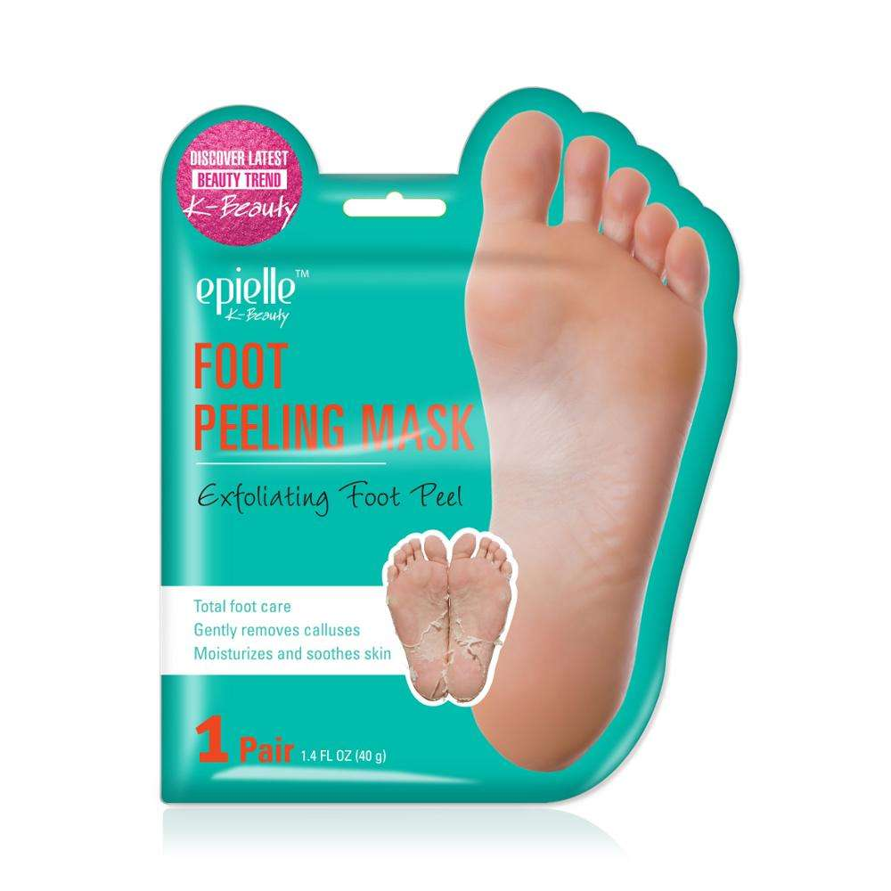K-beauty epielle foot peeling mask exfloliating foot peel made in korea