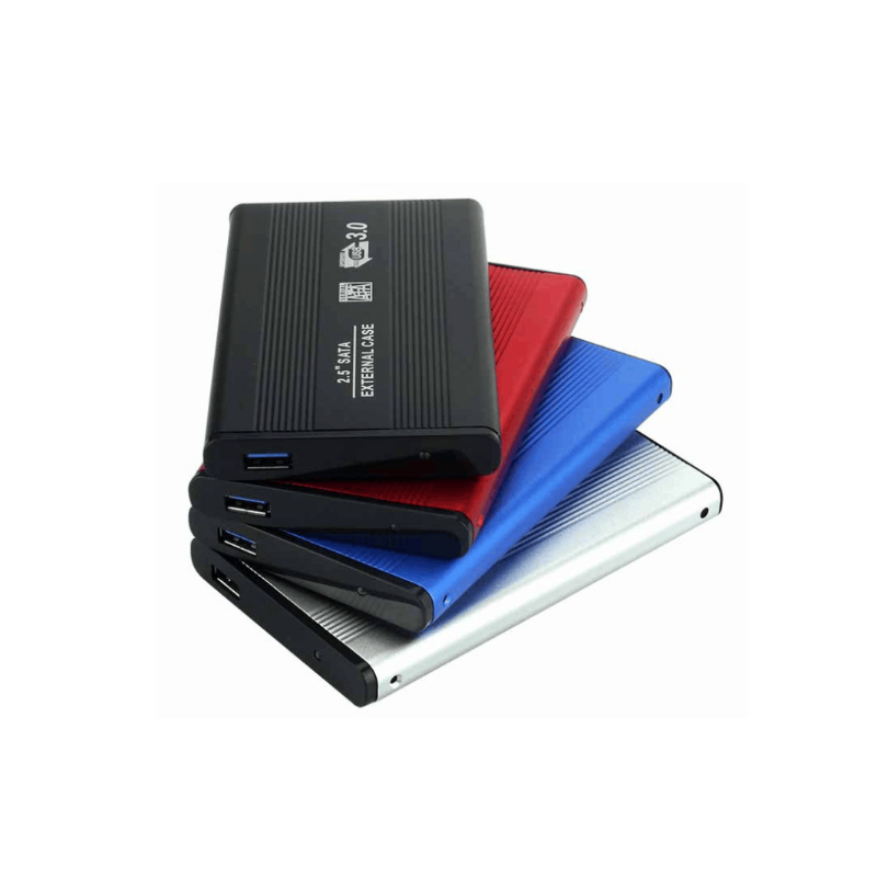 portable aluminum External Storage 2.5 Inch external Hard Disk Drive adapter enclosure usb 3.0 2.5 hdd case box