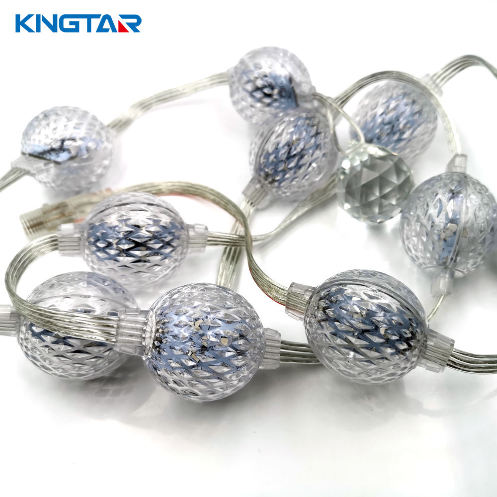 Professional Design DC12/24V 360 Degree Magic 3D Effect 35mm LED Pixel Ball