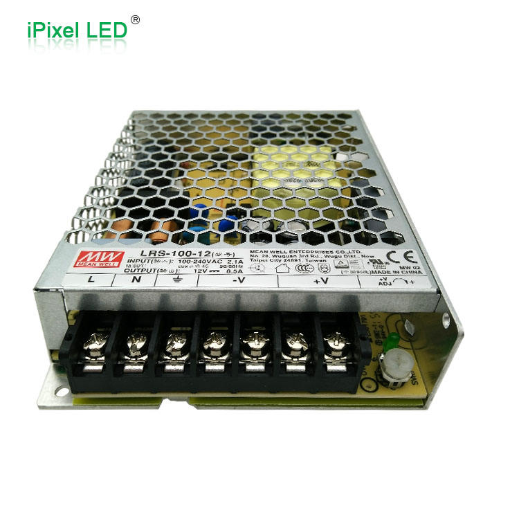 Input: 90~305VAC 127~431VDC Mean Well HLG-240H-12B LED Power Supply CV+CC 192W 6-12V 16A IP67 Wire Leads 1-10V PWM R Dimming