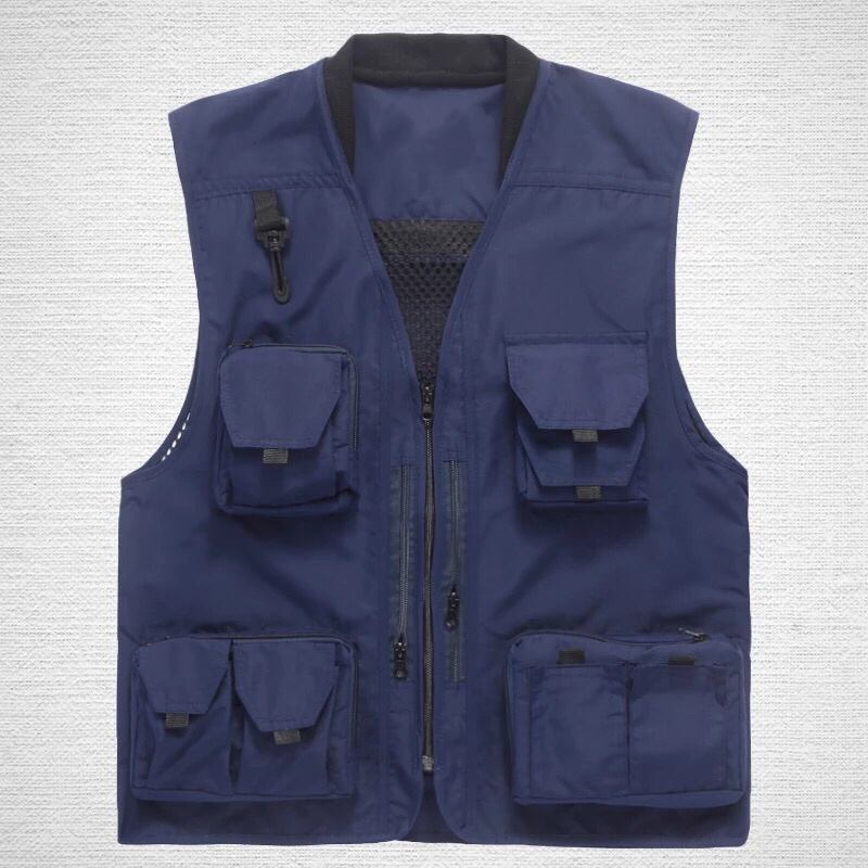 OEM &ODM high quality photographer's vest custom made quick dry men's outdoor vest