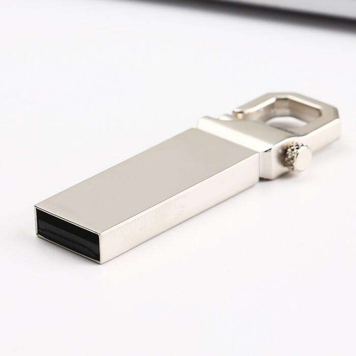 USB 2.0 U Disk 32gb Metal USB Flash Drive Pen Drive Pendrive 16gb 8gb 4gb Memoria Usb Stick With Hook