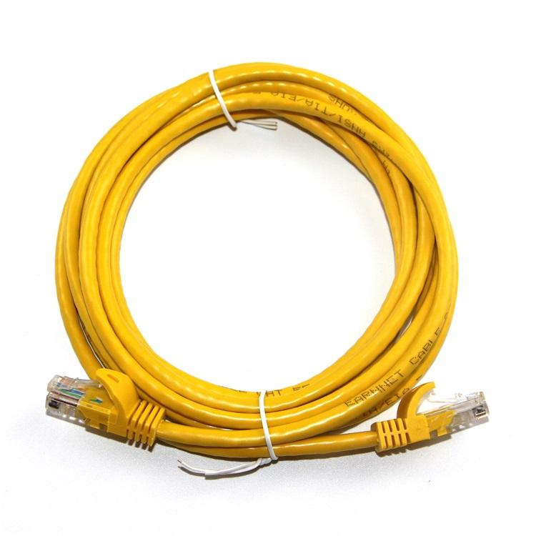 Heavy-Duty Cat7 Networking Cord Patch Cable Outdoor Cat 7 Ethernet Cable 2X 6ft