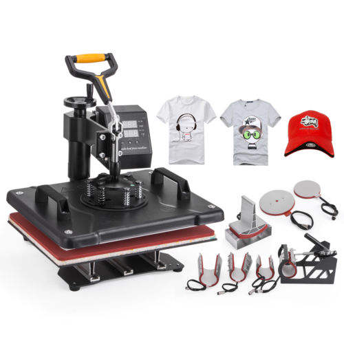 "15""x15"" 8IN1 Combo Pressing T-Shirt Heat Press Transfer Machine Sublimation"
